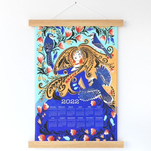 Blue Jay Calendar