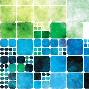 Painted Tiles 12