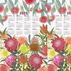 2022 Protea Calendar White