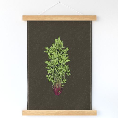 Rococo Celery Wallhanging