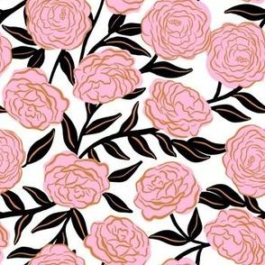 Wild English Roses