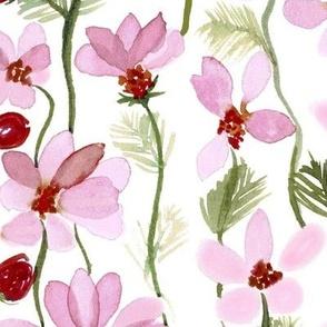 Pink Cosmos Long Stem Floral