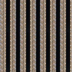 Tinsel Stripe: Coal