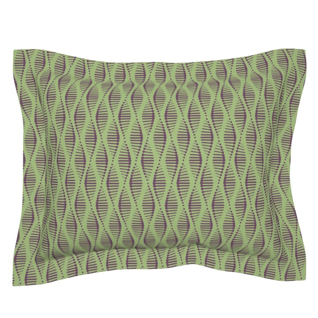 Sebright Pillow Sham featuring Gene Splicing by chris_jorge