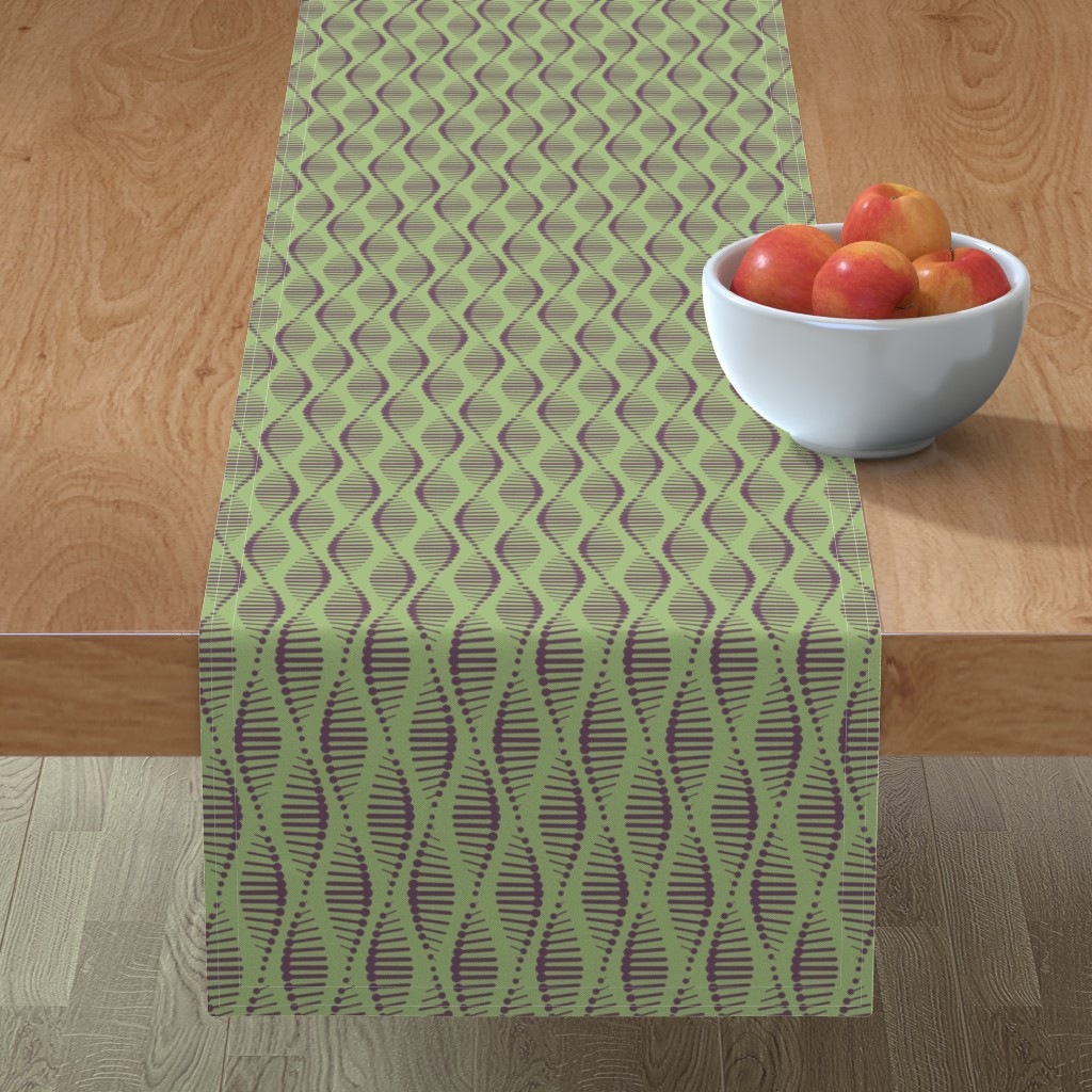 Minorca Table Runner featuring Gene Splicing by chris_jorge
