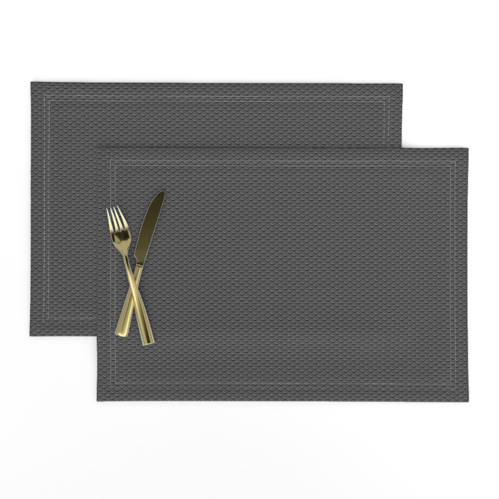 Lamona Cloth Placemats featuring Building bricks black by spacefem