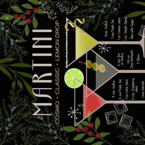 Vintage Martini Recipes