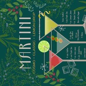 Vintage Martini Recipes green