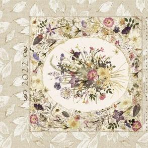 2022  calendar bouquet