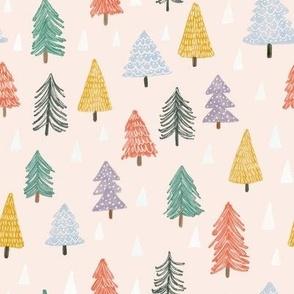 Christmas trees-pink-small