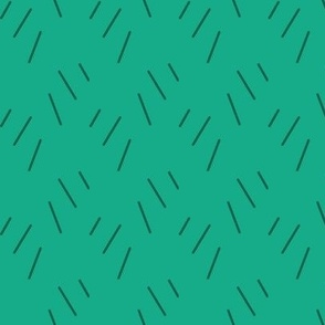 pine needle pattern green