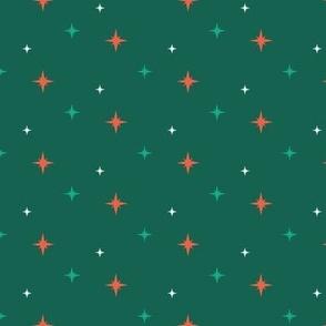 Stars dark green
