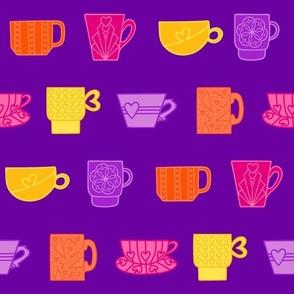 But First Tea – Purple Multi
