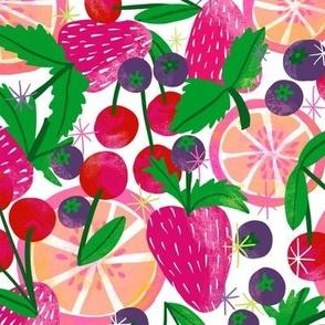 Berry & Citrus Smoothie (on white)
