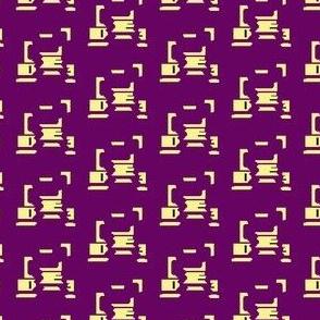 Broken Icon, Purple