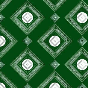 Emerald Dot Block