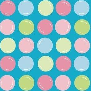Bubbles Geometric Medium