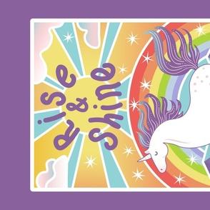 unicorn rise and shine