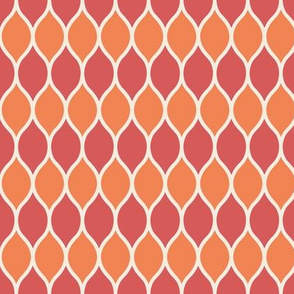 Morris - Coral/Tangerine