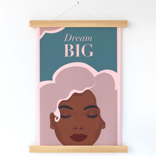Dream BIG – Motivational Wall Hanging