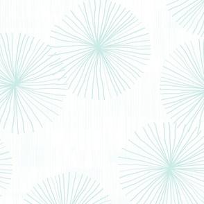 Dandelions White CBEBE7 by Friztin