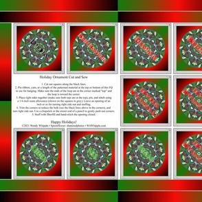 Kwanzaa Ornament 1 FQ