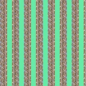 Tinsel Stripe: Mint
