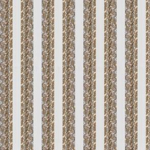 Tinsel Stripe: Snow