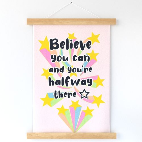 Believe You Can // Wall Hanging