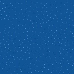 Dots - Dark Blue  (larger) Xmas or Hanukah