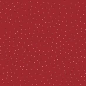 Dots - Xmas Red (larger)