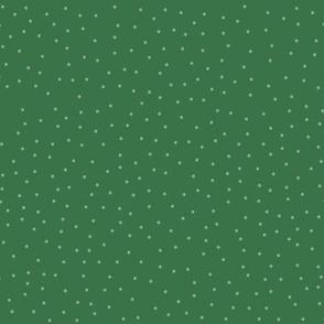 Dots - Xmas Green  (larger)