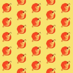 Pomegranate on Yellow
