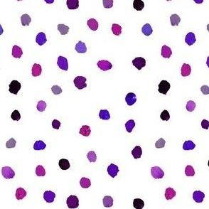 Paint Dots // Purples