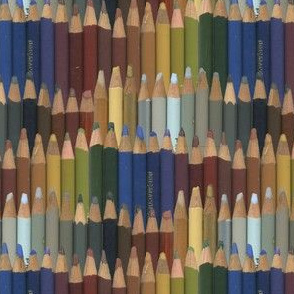 colored pencils - dark
