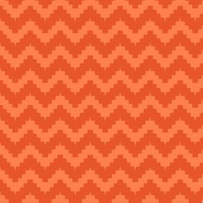 chevron all orange