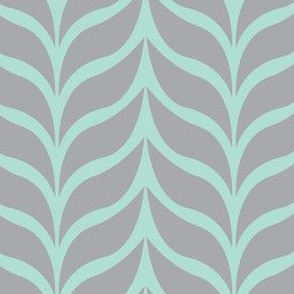 wheat sheaf mint/gray