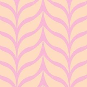 wheat sheaf pink/peach