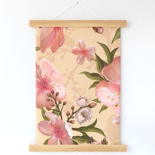 Watercolor flower, hibiscus