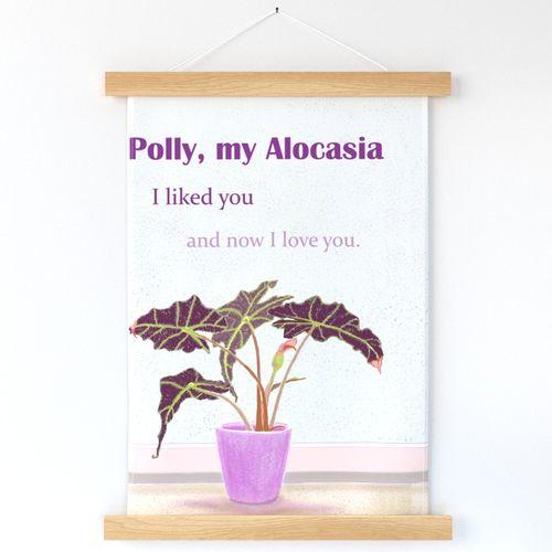 My Alocasia Polly