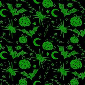 Halloween Magic Green