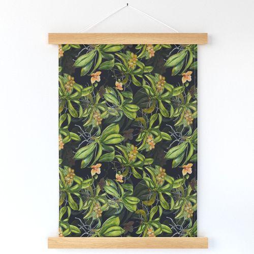 Hanging plants in my kitchen tea towel