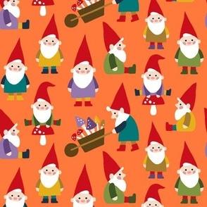 Happy Gnomes orange
