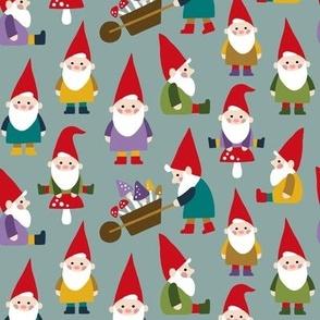 Happy Gnomes gray