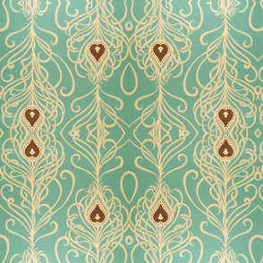 Turquoise & Tendrils