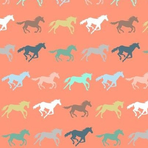 gallop - coral