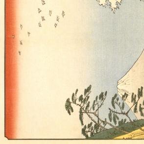 Japanese Print Boat Panel