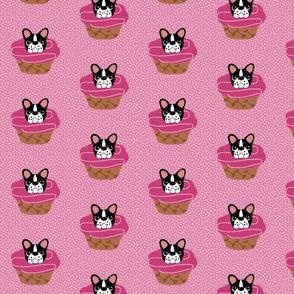 Frenchie Pupcakes