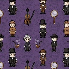 Cutesy Holmes (Purple)