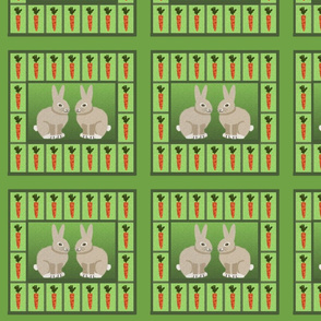 Carrots and Rabbits Tiles